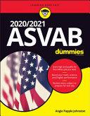 2020   2021 ASVAB For Dummies