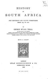 History of South Africa: The Republics and Native Territories from 1854 to 1872