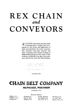 Rex Chain and Conveyors PDF