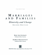 Marriages and Families PDF