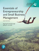 Essentials of Entrepreneurship and Small Business Management  Global Edition