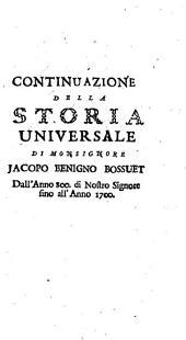 Continuazione della Storia universale