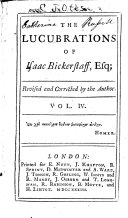 The Lucubrations of Isaac Bickerstaff, Esq