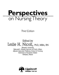 Perspectives on Nursing Theory PDF