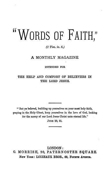 'Words of faith'.