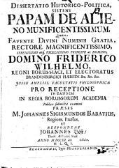 Ad Ser. Pr. Cosmum III, Magnum Hetruriae Ducem ... epistola de nummo illo aureo, quem Constantinus M. ... accepto ss. baptismate iusserit signari