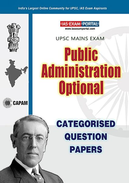 Public Administration  Optional  Categorised Papers  15  Years 2003 2020  PDF