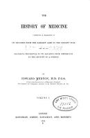 The History of medicine comprising a narrative of its progress from the earliest ages to the present time PDF