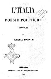 L' Italia poesie politiche