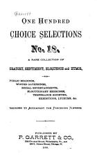 One Hundred Choice Selections in Poetry and Prose PDF