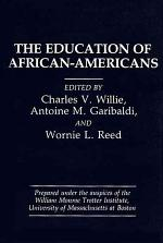 The Education of African-Americans