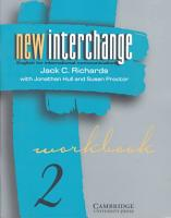 New Interchange Workbook 2 PDF