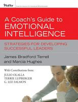 A Coach s Guide to Emotional Intelligence PDF