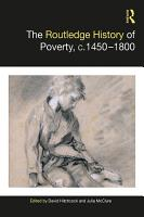 The Routledge History of Poverty  c 1450   1800 PDF