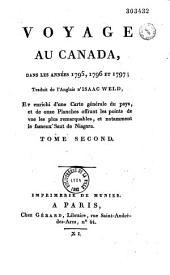 Voyage au Canada: dans les annees 1795, 1796, et 1797