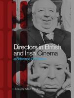 Directors in British and Irish Cinema PDF