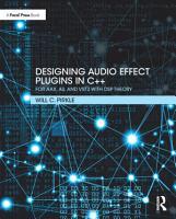 Designing Audio Effect Plugins in C   PDF