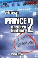 PRINCE2  A Practical Handbook PDF