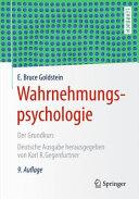 Wahrnehmungspsychologie PDF