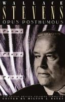 Opus Posthumous PDF