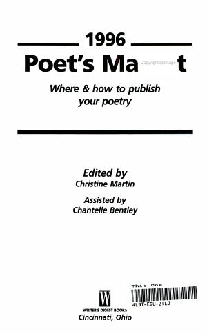 Poet's Market 96
