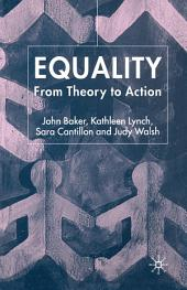 Equality: From Theory to Action, Edition 2