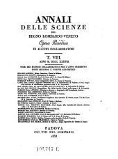 Annali Delle Scienze Del Regno Lombardo-Veneto Opera Periodica Di Alcuni Collaborati: Volume 27