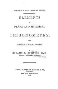 Elements of Plane and Spherical Trigonometry PDF