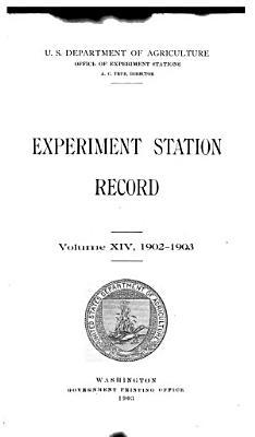 Experiment Station Record PDF