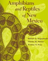 Amphibians and Reptiles of New Mexico PDF