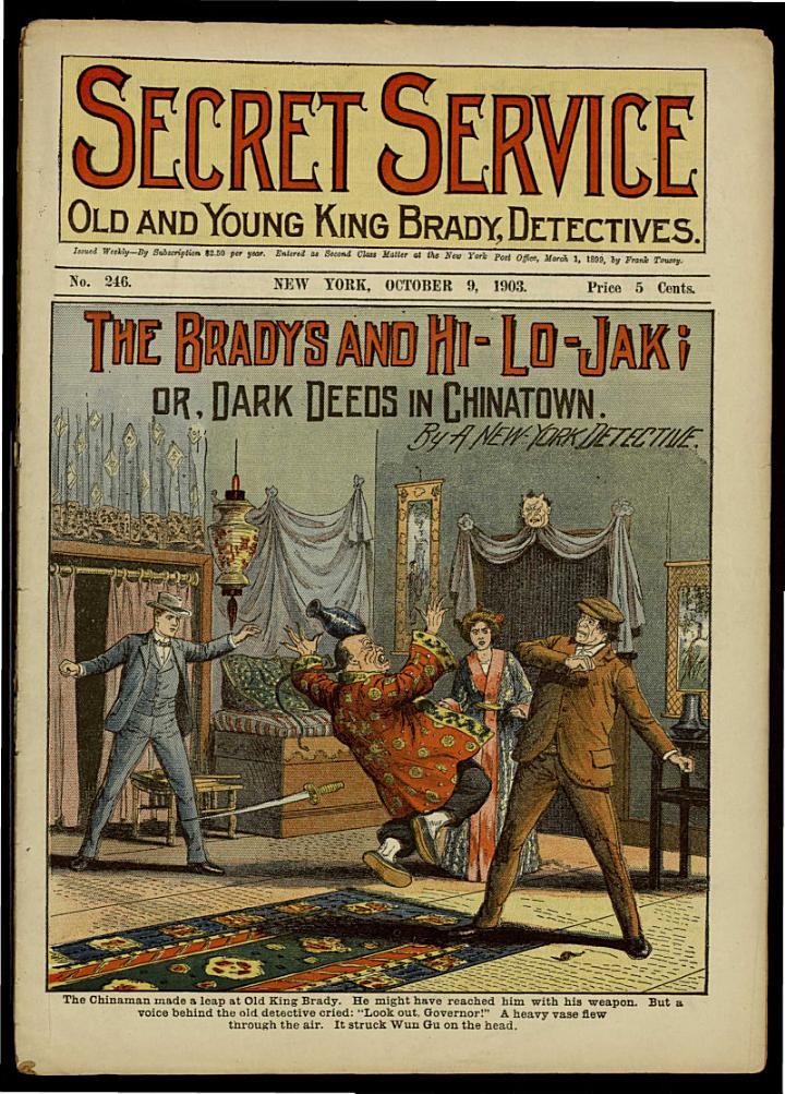 The Bradys and Hi-Lo-Jak; Or, Dark Deeds in Chinatown
