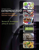 Entrepreneurship and Effective Small Business Management PDF