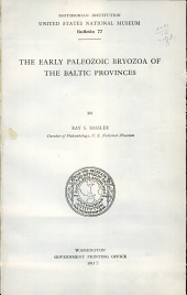 The Early Paleozoic Bryozoa of the Baltic Provinces