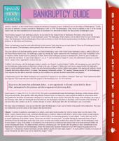 Bankruptcy Guide (Speedy Study Guides)