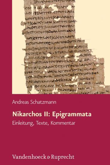 Nikarchos II  Epigrammata PDF