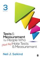 Tests   Measurement for People Who  Think They  Hate Tests   Measurement PDF