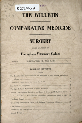 Bulletin of Comparative Medicine & Surgery ...: Volume 3, Issue 4