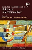 Research Handbook on the Politics of International Law PDF