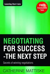 Negotiating for Success – The Next Step