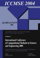 International Conference of Computational Methods in Sciences and Engineering  ICCMSE 2004  PDF