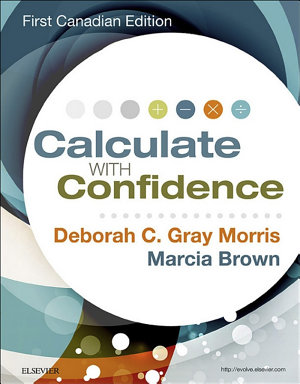 Calculate with Confidence  Canadian Edition   E Book PDF