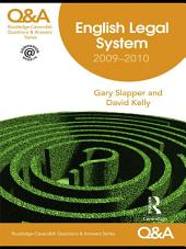 Q&A English Legal System 2009-2010: Edition 8
