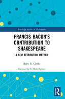 Francis Bacon s Contribution to Shakespeare