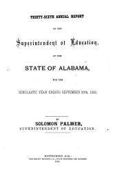 Annual Report - State of Alabama, Department of Education