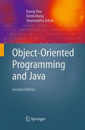 Object-Oriented Programming and Java: Edition 2