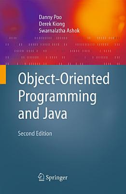 Object Oriented Programming and Java PDF