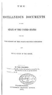 Congressional Series of United States Public Documents: Volume 1547
