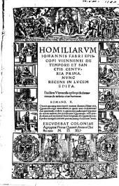 Homiliae de tempore et factis: centuria prima