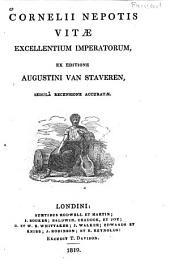 Cornelii Neoptis Vitae excellentium imperatorum