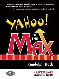 Yahoo  to the Max Book